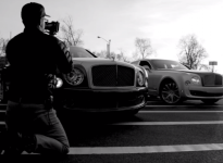There's a new ad for Bentley out, and it was shot on an iPhone 5